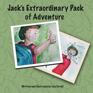 Image of Jack's Extraordinary Pack of Adventure Children's Book Cover