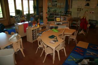 Even though the outdoors is a primary focus of nature-based preschools, it's important to invest thought and dollars in the indoor space if you are going to incorporate one.
