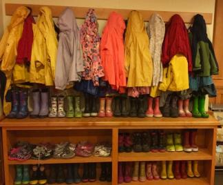 Inside the Dodge Nature Preschool