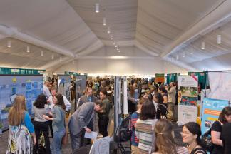 The exhibit all at the 2015 NAAEE conference.