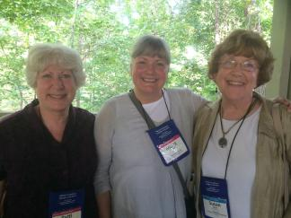 Participants Patti Bailie, Marcie Oltman, and Susie Wirth
