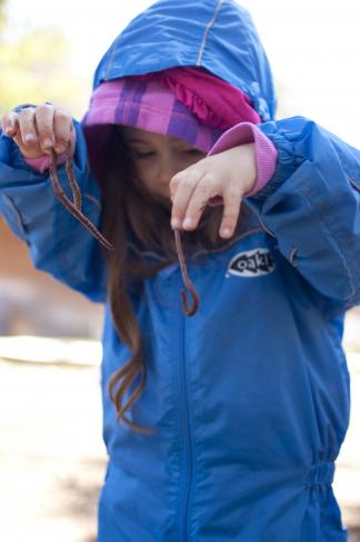 In nature preschools, students spend time outdoors exploring nature daily.