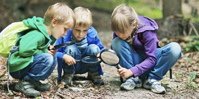 Let the children play: Nature's answer to early learning